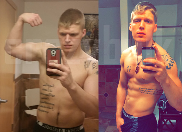 Crazy BulK HGH X2 before and After