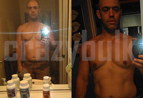 HGH x2 Supplements before and after