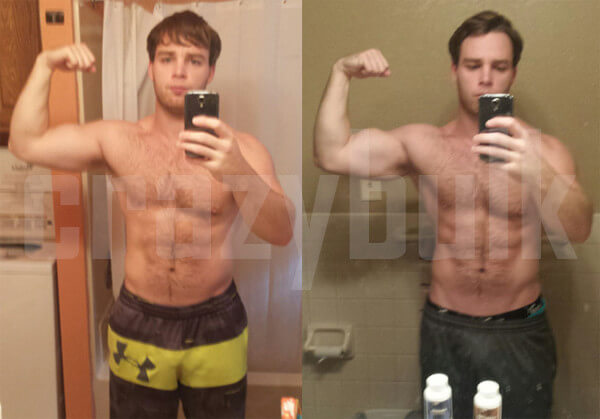 Peter HGH Results before and after